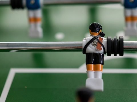 indoor tabletop foosball game set featured image