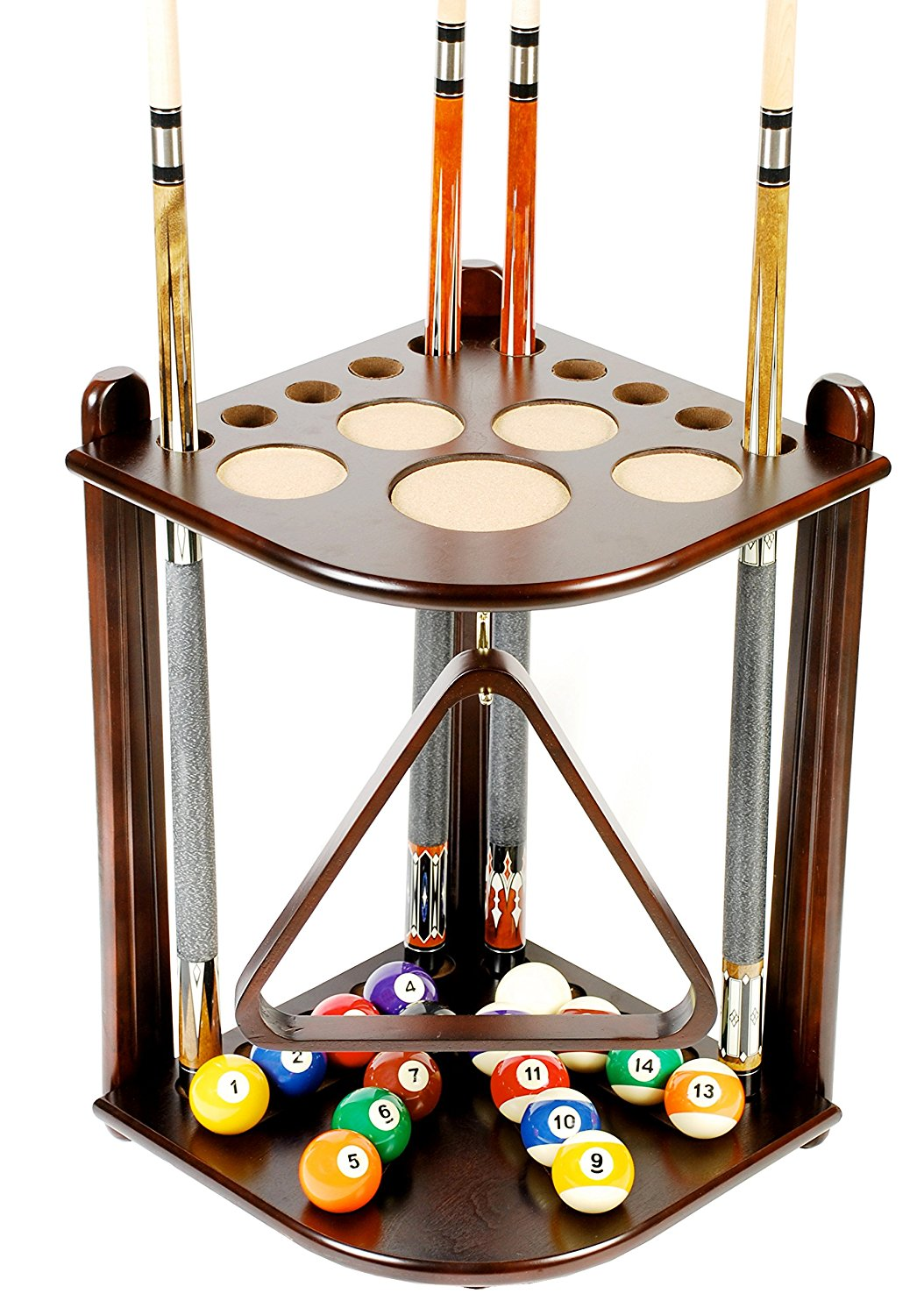 iszy billiard 10 cue rack image
