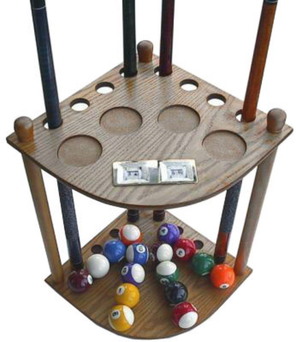 iszy billiard 8 cue rack image