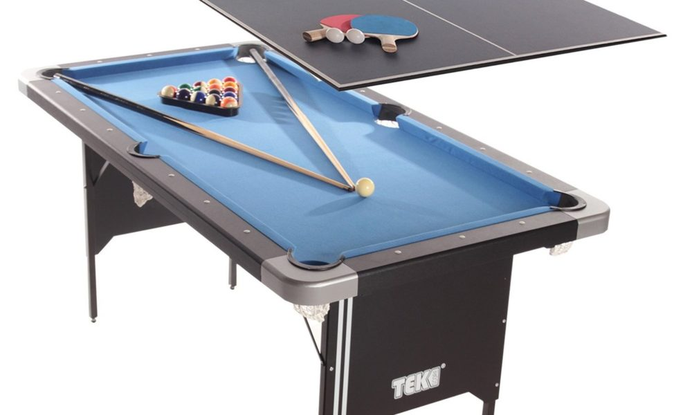 Top Best Folding Pool Table Reviews For Game Room Experts - Hathaway fairmont pool table