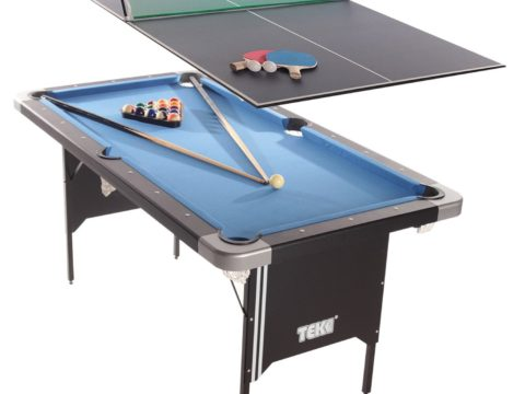 best folding pool table reviews featured image