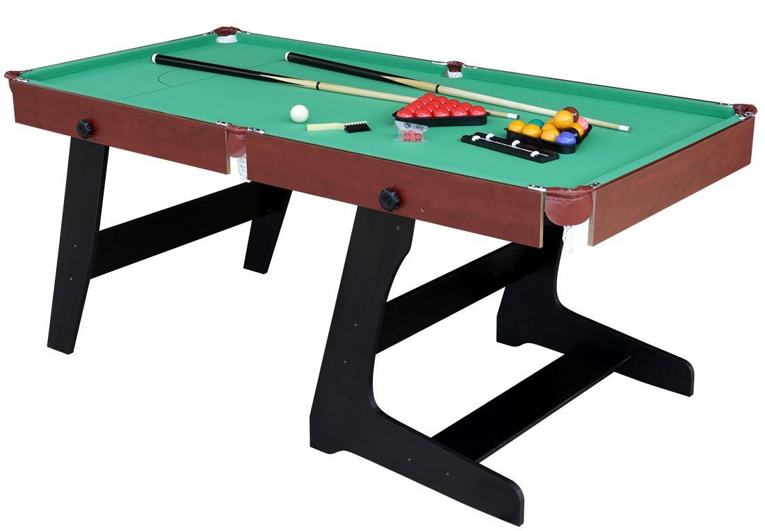 Top Best Portable Pool Table Reviews For Game Room Experts - Fold out pool table