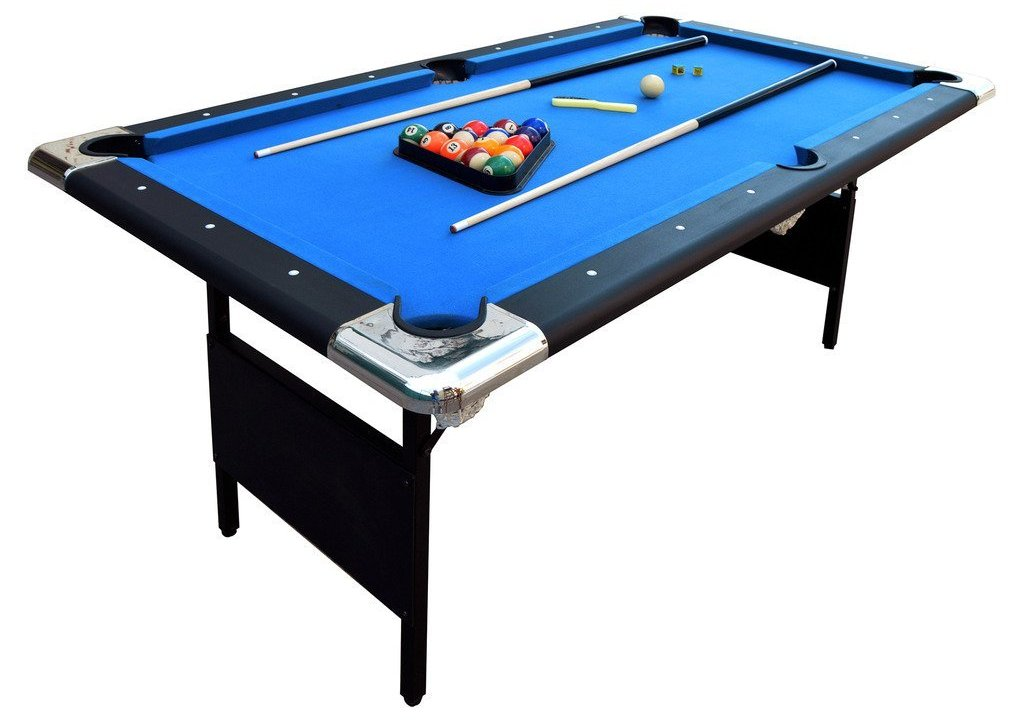 hathaway fairmont 6 ft. portable pool table image