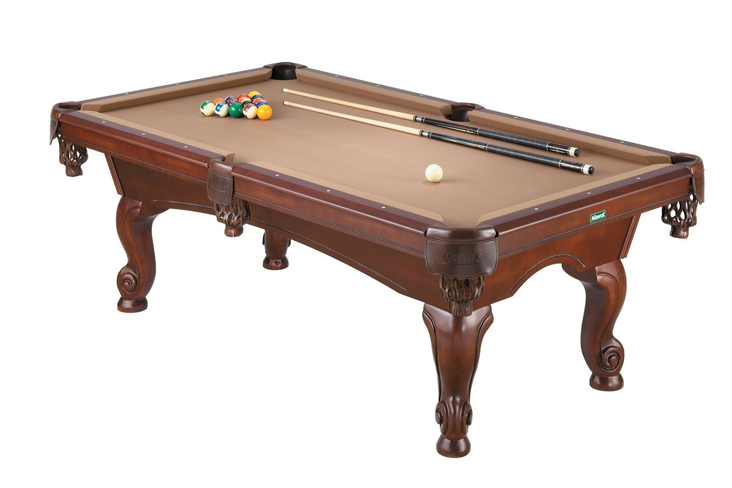 Mizerak P1373TW Victoria II 7-Foot Billiard Table