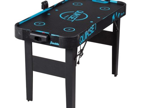 folding air hockey table featured image