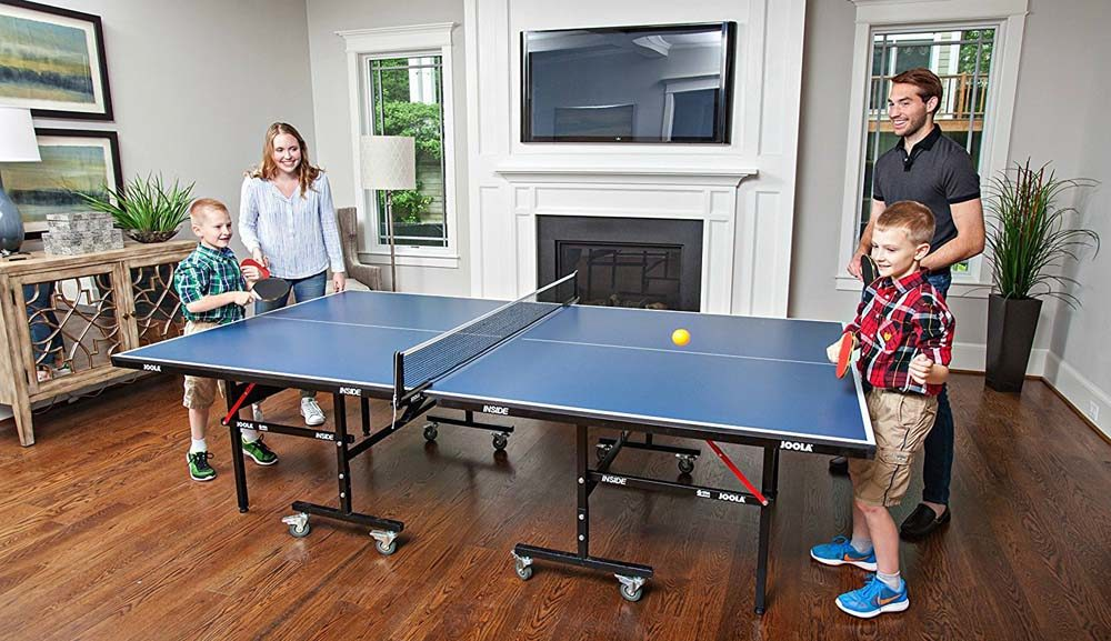 Folding Ping Pong Table
