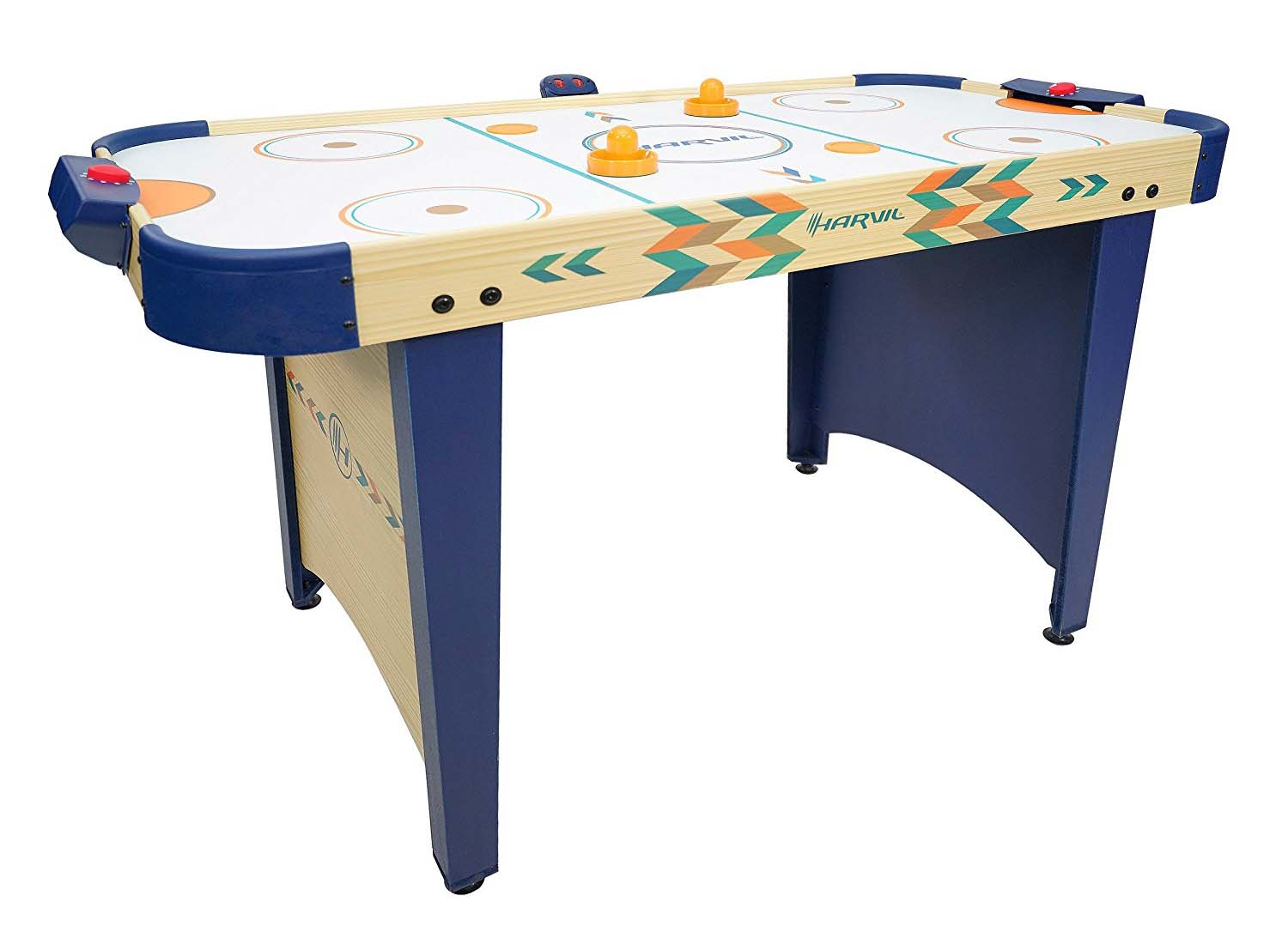 Harvil 4 Foot Air Hockey Game Table For Kids