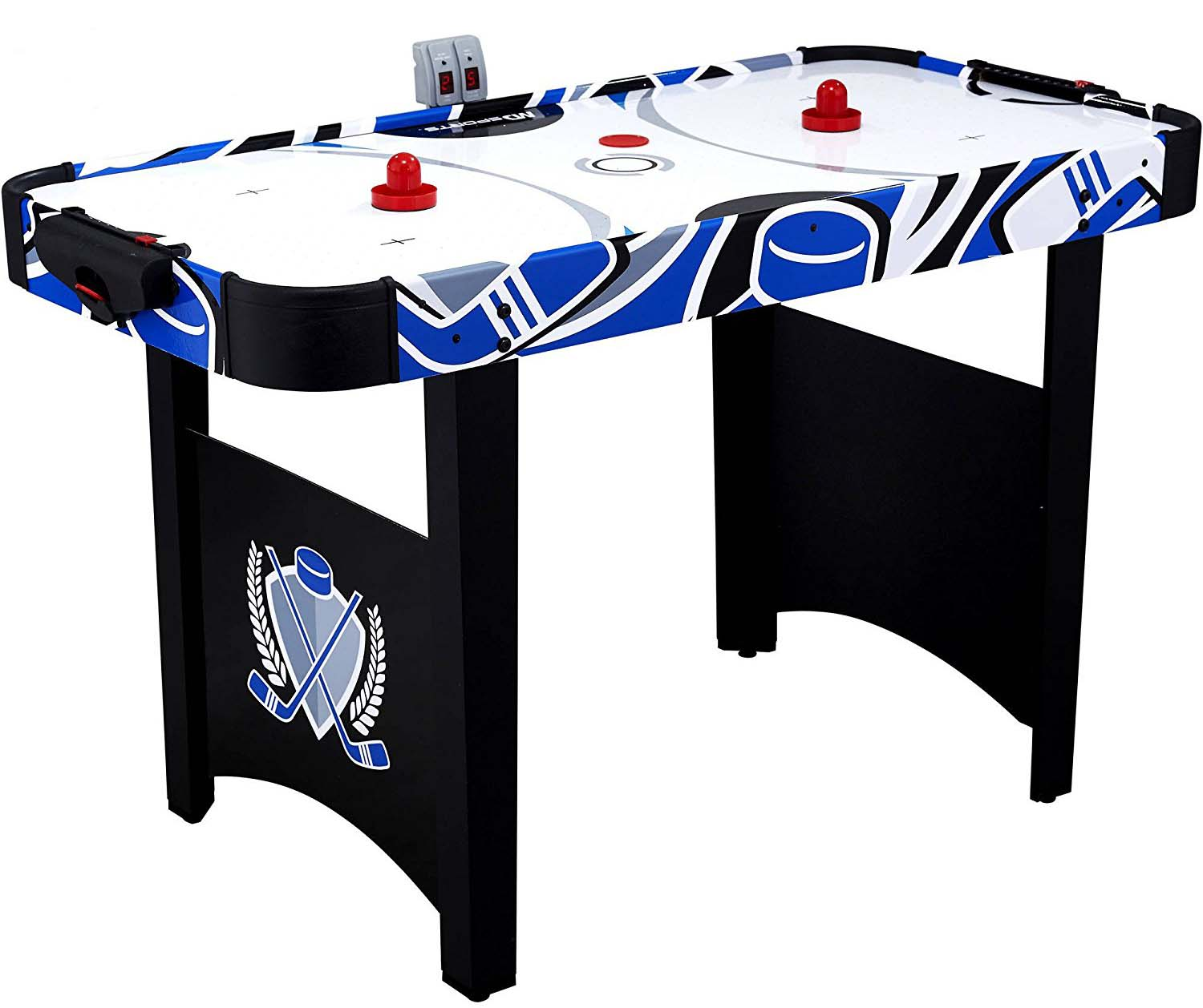 MD Sports Mind Blowing Fun And Easy To Play For Kids Air Powered Hockey  Table
